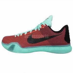 Nike Kobe X 10 EP Kobe Bryant Hot Lava Sunset Mens ...