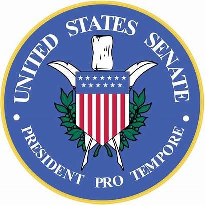 Senate President Seal Pro Senator Tempore Svg