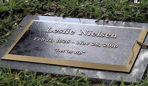 Leslie Nielsen 'Rips' Final Joke On Gravestone « CBS Miami