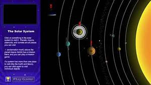The Solar System Explorer game