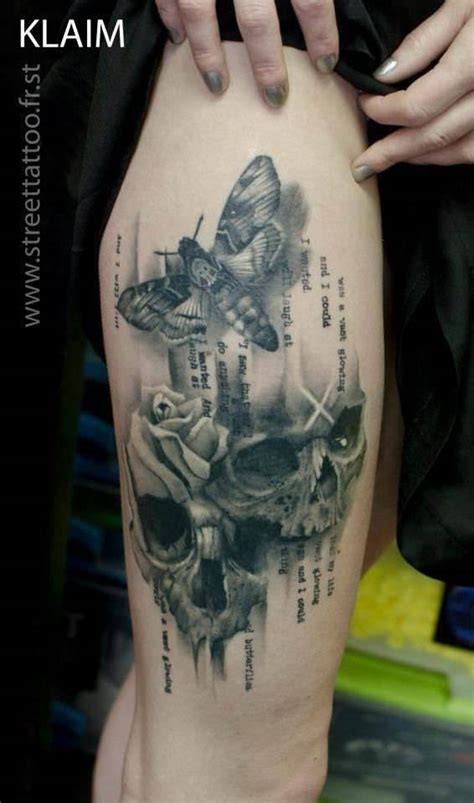 versatile tattoo talents  french artist klaim