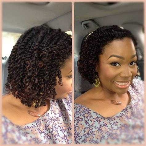 top 29 hairstyles meant just for short natural twist hair