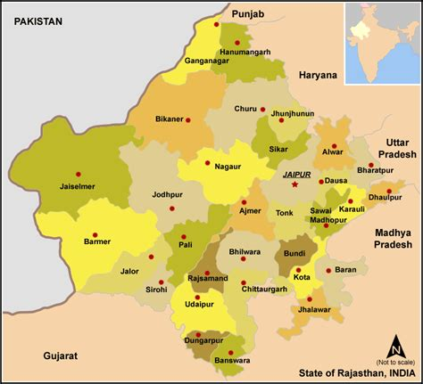 list  districts  rajasthan wikipedia