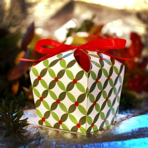 easy homemade christmas gift box templates holiday