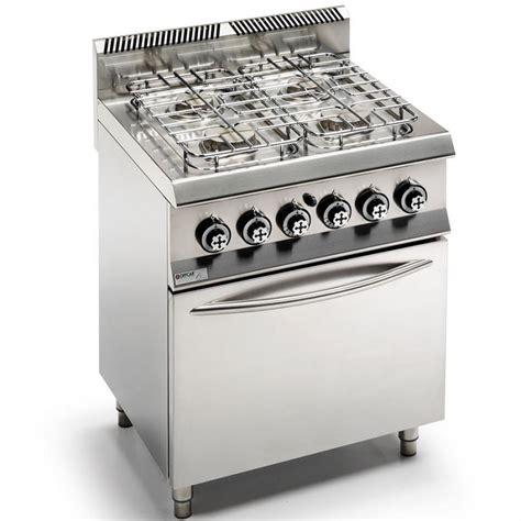 Cucina 4 Fuochi A Gas Con Forno Ventilato  Serie 600 4
