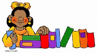 Library Clip Clipart Librarian Borders Cliparts Student