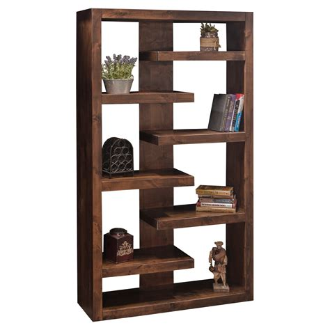 Furniture Bookcases by Legends Furniture Sausalito Decorative Bookcase Whiskey