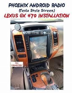 Installation  U0026 Use  Phoenix Android Radio Lexus Gx 470