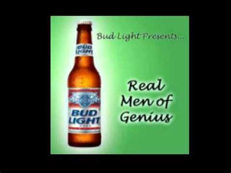Bud Light Real Of Genius by Bud Light Presents Real Of Genius Mr The Top Carb