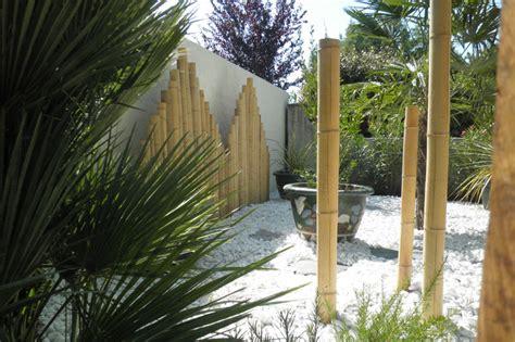 deco jardin avec bambou