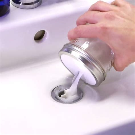 Clean Bathroom Sink Drain Naturally by Clogged Sink Fix It In No Time With This Diy Drain O
