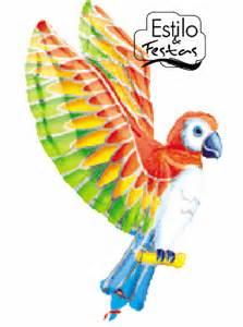 Balão Papagaio Tropical Parrot