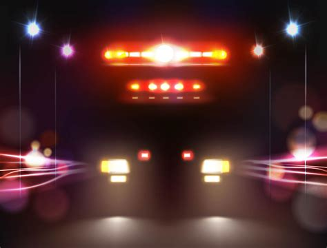 lights and siren nhtsa recommends ambulances reduce siren and light use