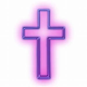 Purple Religious Crosses Clipart