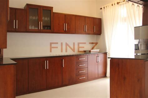 Pantry Designs Sri Lanka   Mahogany & Teak Kitchen Pantry