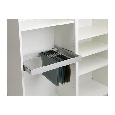 Hanging Besta Cabinets by Ikea Inreda Pull Out Frame For Hanging Files In Besta