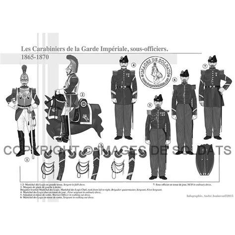 le bureau la garde les carabiniers de la garde impériale sous officiers