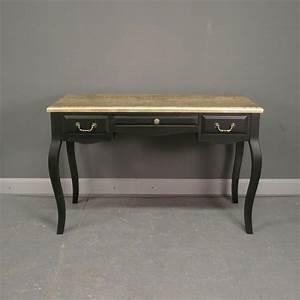 Bureau But Noir : bureau baroque noir et or meuble baroque ~ Teatrodelosmanantiales.com Idées de Décoration
