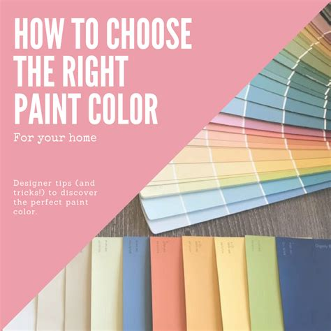 how to choose paint colors for your home interior how to choose the best paint colors for your home