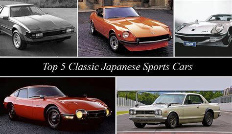topspeed s top 5 classic japanese sports cars news top speed