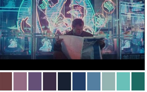 the color palettes of your favorite films the royal