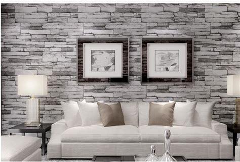 hot  luxury wood blocks effect brown stone brick