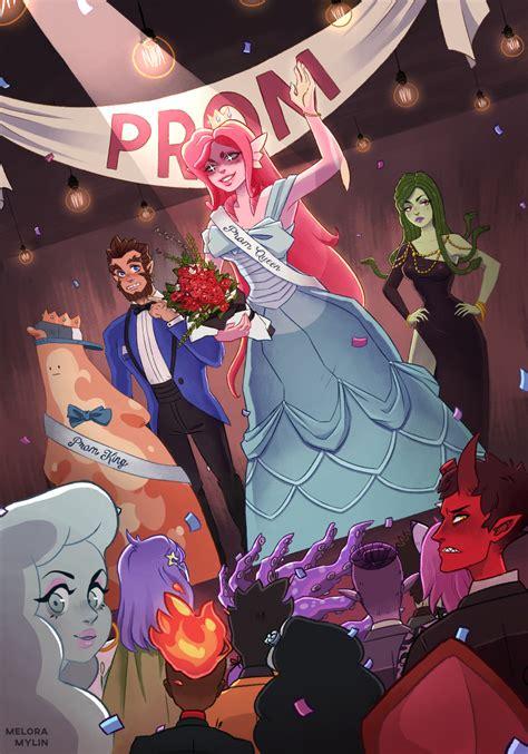 monster prom  meloramylin  newgrounds