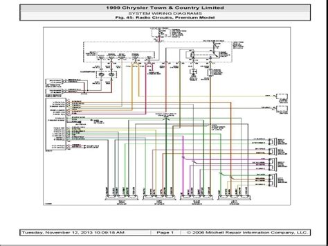Chrysler Town Country Wiring Diagram Forums