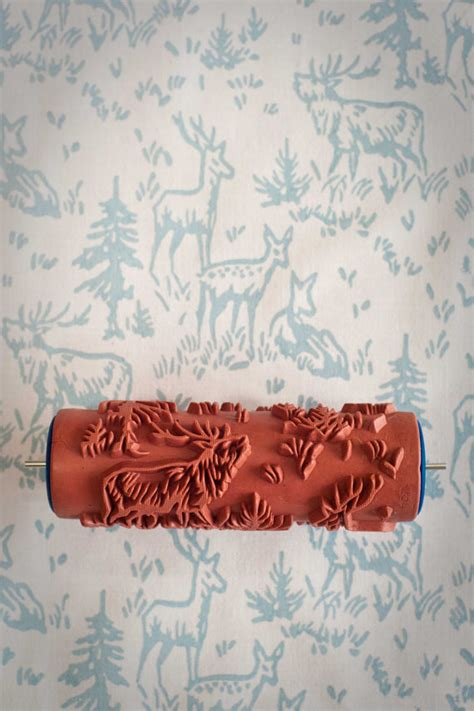 Malerrolle Mit Muster by Patterned Paint Rollers Decoholic