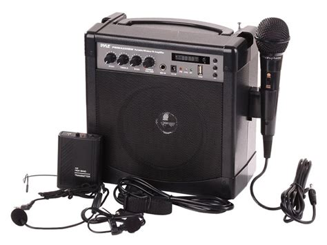 Pyle Portable Wireless Pa Speaker System