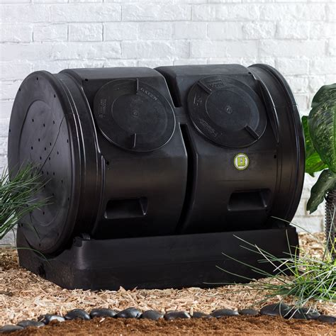 good ideas compost wizard dueling tumbler compost