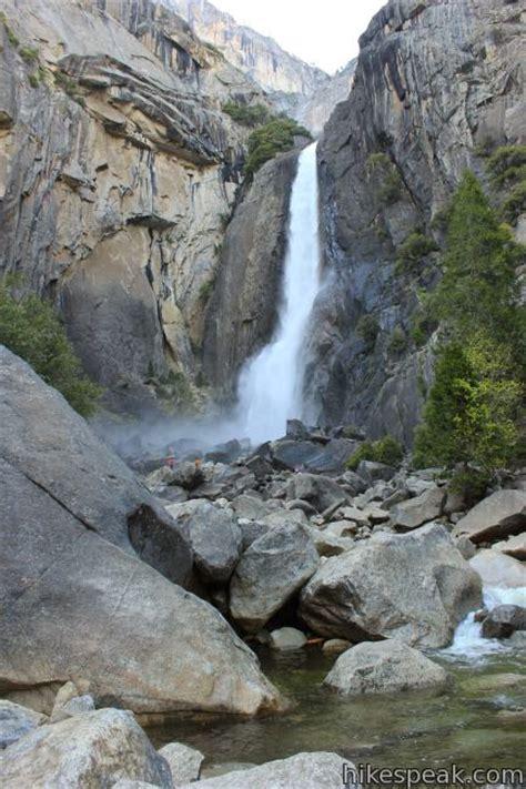 Lower Yosemite Fall Trail Hikespeak