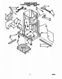 Kitchenaid Kucc151dbl0 Trash Compactor Parts