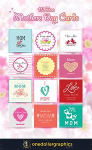 12 Free Mothers Day Cards