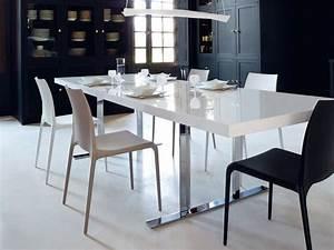Table Ligne Roset : cineline dining table by ligne roset contemporary dining room chicago by ligne roset chicago ~ Melissatoandfro.com Idées de Décoration