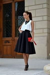 tenue chic femme les meilleures 60 idees archzinefr With robe longue de journée