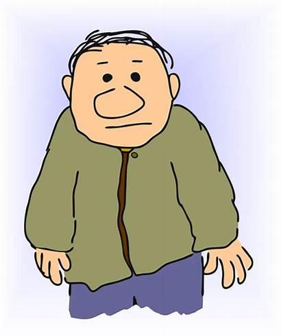 Clipart Clip Cliparts Birthday Guy Elderly Cartoon