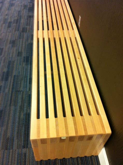ana white modern vertical slat top console diy projects