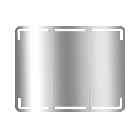 armoire rangement cuisine armoire de toilette lumineuse l 75 cm blanc estrella