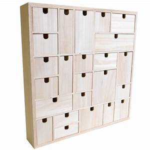 Calendrier De L Avent Maison En Bois : calendrier de l 39 avent bois g om trique 40cm artemio ~ Melissatoandfro.com Idées de Décoration