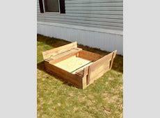DIY Pallet Sandbox for Kids Pallet Furniture DIY