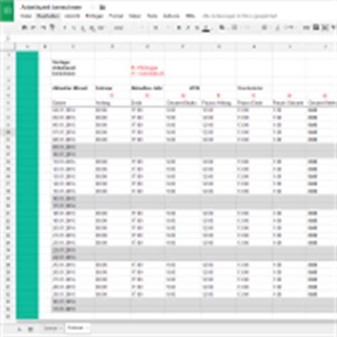 kostenlose excelvorlagen zum  papershift