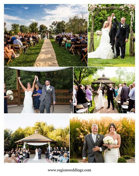 outdoor weddings  northwest indiana chicago