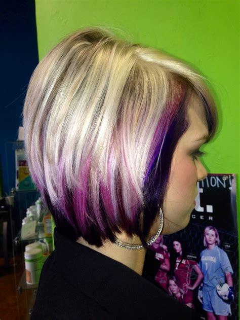 black hair styles pink purple and hair that hair 6198