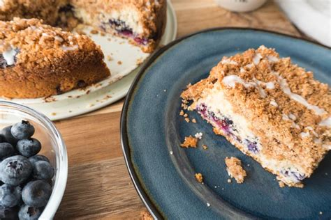 Mmmm, i don't think one is mentioned. Easy Blueberry Coffee Cake Recipe - No Diets Allowed