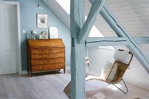Wandfarbe blau grau anna von mangoldt for Wandfarbe grau blau
