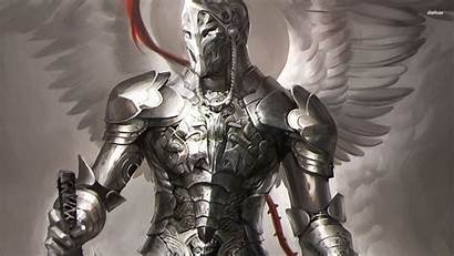 Knight Fantasy Wallpapers Medieval Knights Crusader Angel