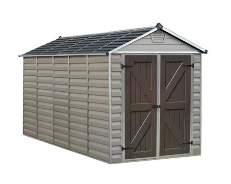 Suncast Sheds Home Depot by Suncast 54 Cu Ft Vertical Storage Shed The Home Depot