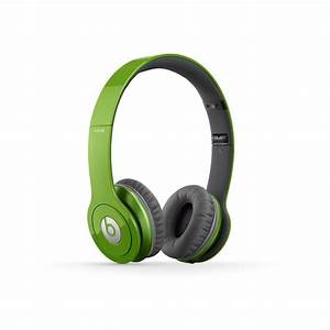 Beats by Dre. Solo HD On-Ear Headphone in Green Only $119 ...