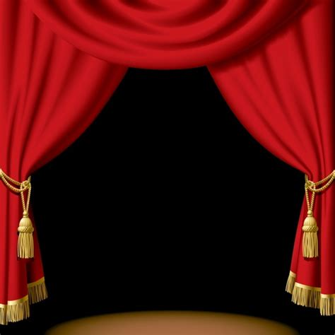 stage curtain clip art  vector